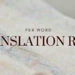 Translation Rates Per Word