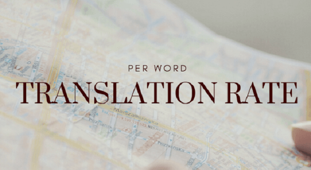 Translation Rates Per Word